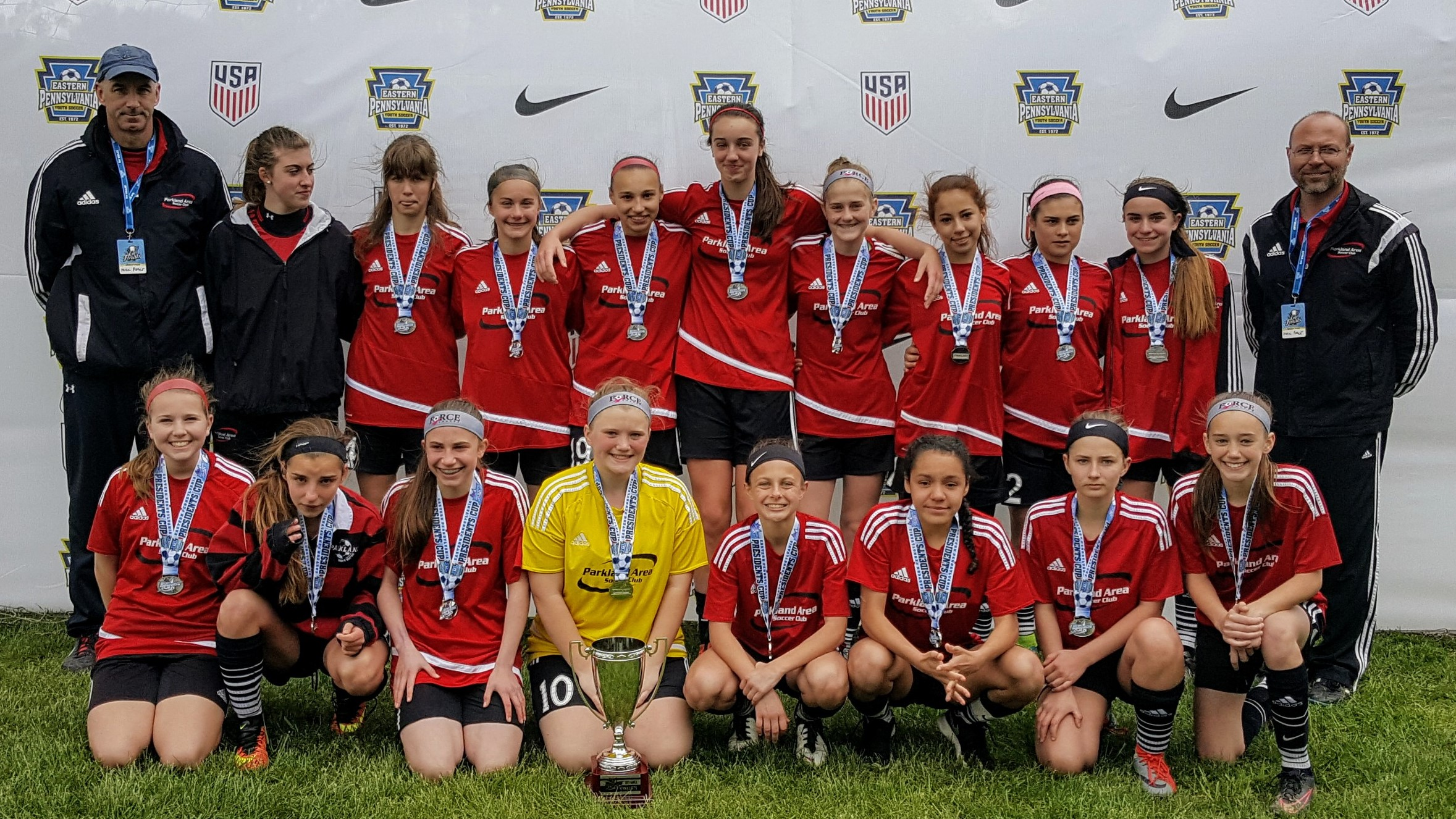 PASC Force U15 Girls: President's Cup Finals