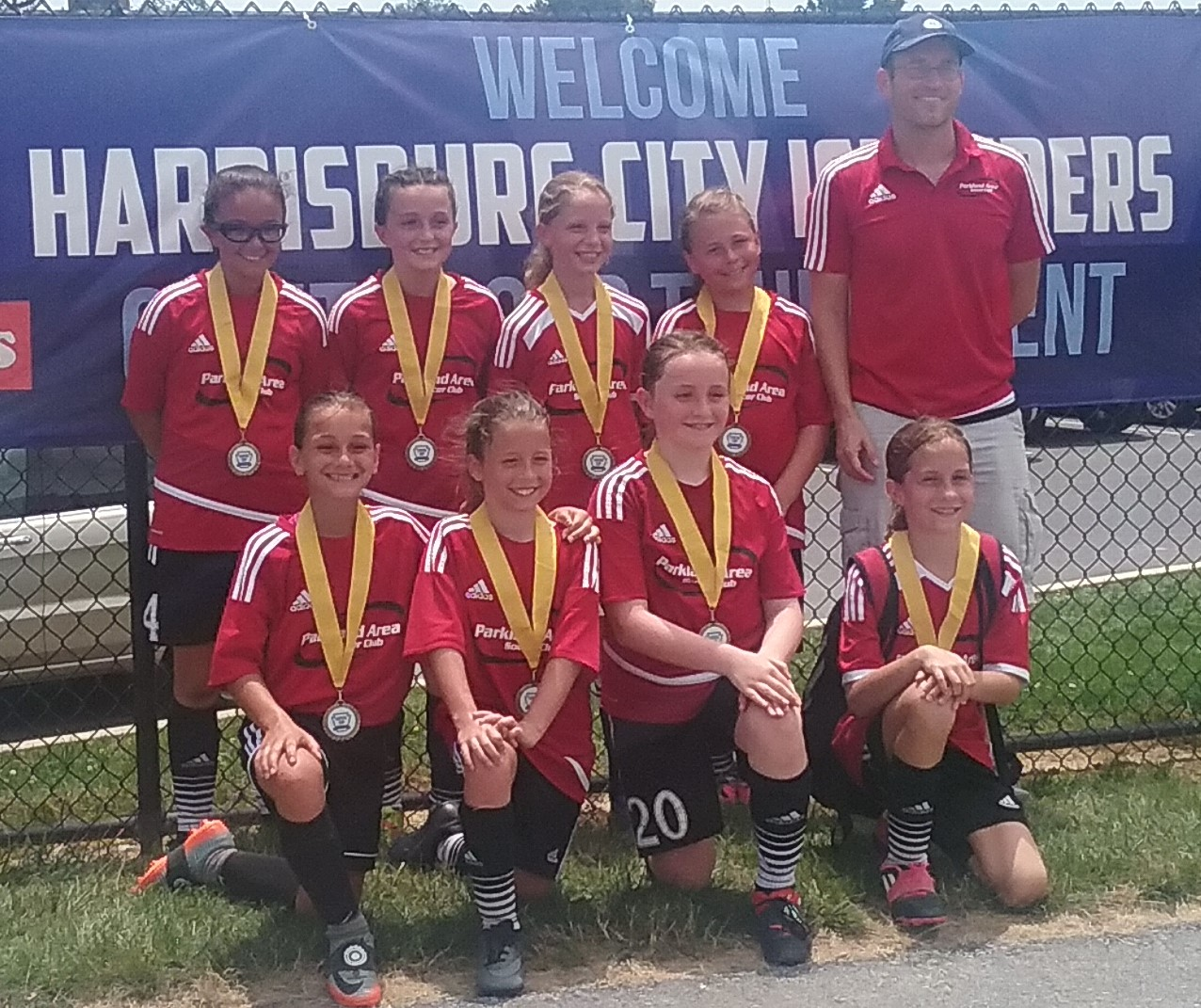 PASC U10 Girls team wins Capital cup