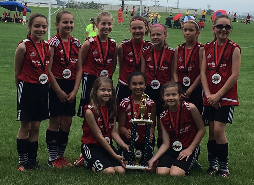 PASC U10G Thunder team are 2018 HMMS Players Cup Champions