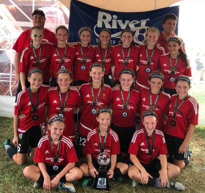 PASC 2004 Girls Vipers 2017 River SC Columbus Day Tournament Champions
